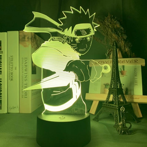 3D Anime Naruto Uzumaki Led Night Lamp
