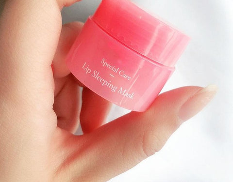 LipLuxe Korean Berry Lip Sleeping Mask Moisturising Cream