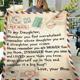 Air Mail Love Letter Blanket Quilts Throws Gift