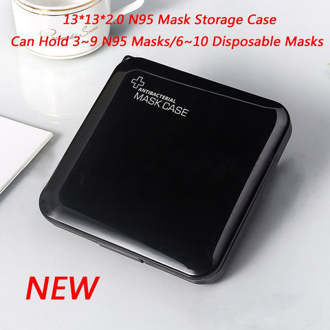 Disposable Mase Case Portable Mask Storage Case mask holder Save mask box Face Mask Container Mask Organizer Box Surgical Mask