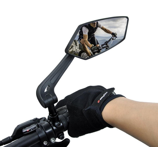 EasyDo Bicycle Rear View Mirror for Handlebars Left & Right Mirror Full Set