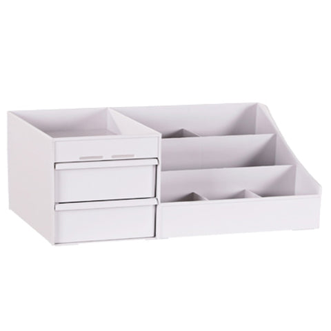 Large Space Saving Cosmetic Storage Box Makeup Drawer Organiser Desktop Box