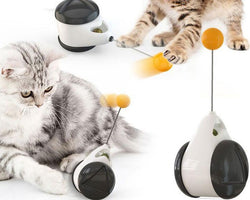 Smart Cat Toy Automatic Indoor Exercise Interactive Cat Toy
