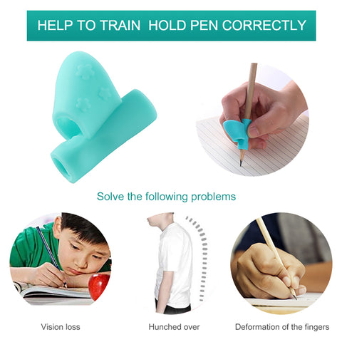 3 Children's Writing Posture Correction Magic Fits Pencil Soft