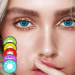 CE FDA Approved Natural Coloured Contact Lenses for all events like Halloween