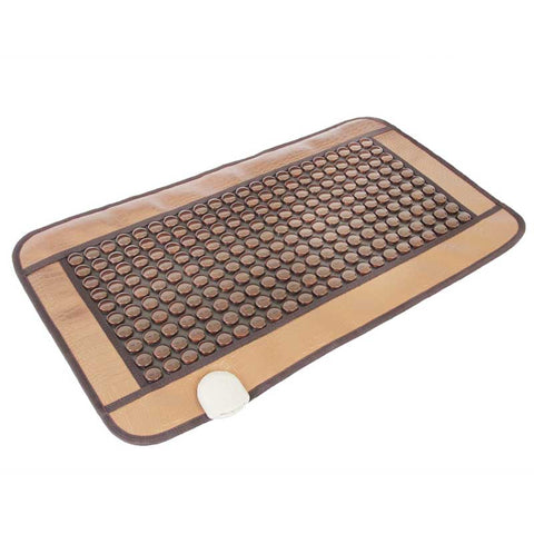 SpineMat Heating Tourmaline Magnetic Mat Physiotherapy Therapy Germanium stone