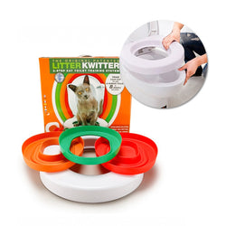 Cat Pet Toilet Training Seat 8 weeks Programme
