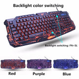 Brand New 2020 LED Breathing Backlight Pro Gaming Keyboard Mouse Set