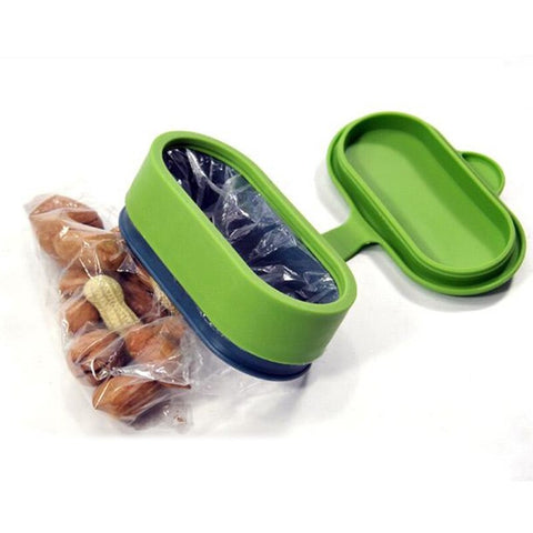 3 set MagicSeal Quick Lock Food Storage Lids Fresh-keeping Magic Cap Bag