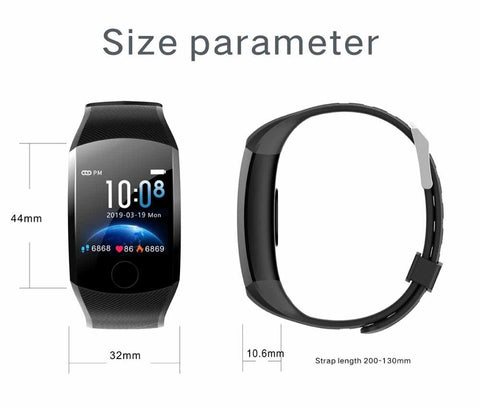 Q11 OLED Smart Fitness Watch Touch Screen IP67