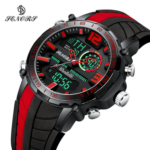 Senors SN150 Military LED Digital Watch