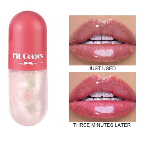 3 minute MiracleLip Crystal Jelly Lip Gloss Capsule Lip Plumper