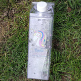 Unicorn Water Bottle Fridge Storage Carton
