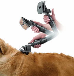 GroomVac Animal Hair Brush Vacuum