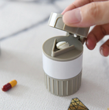 Easy Pill Cutter & Crusher Storage