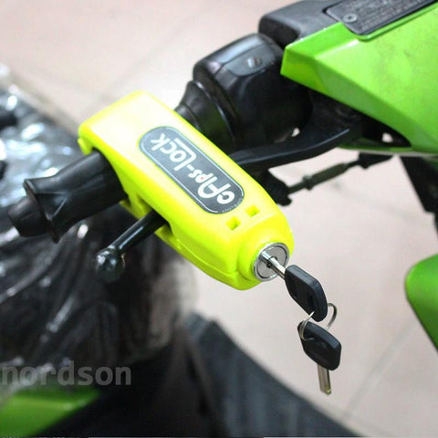 Motorcycle Safety Grip Lock