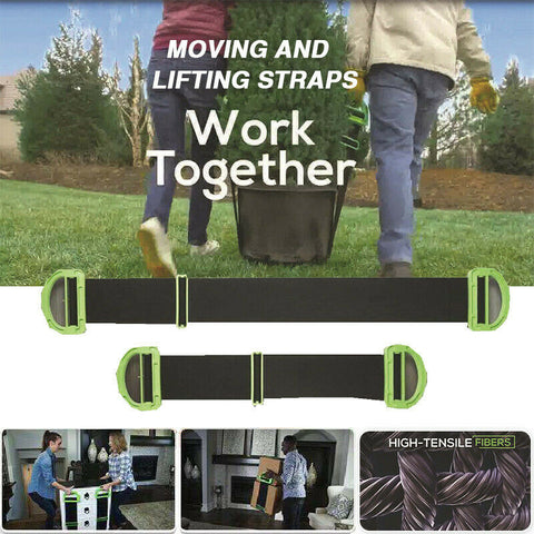 Furniture Lifting Moving Adjustable Belt
