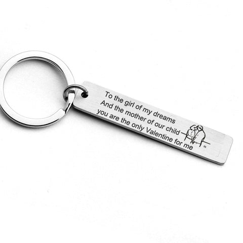 Love Note Keyring Gift
