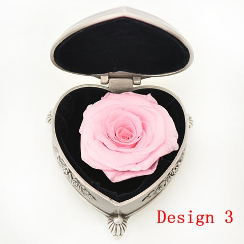 Preserved Rose Beauty and The Beast Eternal Flower Jewelry Box
