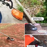 Pavement Pro - Break-Proof Pavement Surface Grass Trimmer