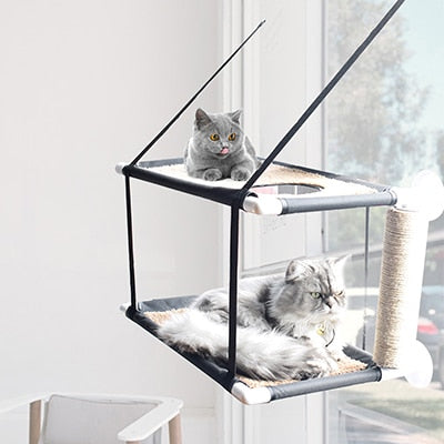 Cat balcony Hammock Bed