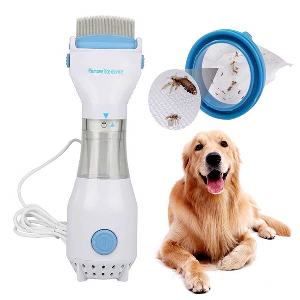 Electric Flea Comb Treatment Pet Safe