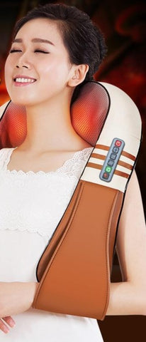 Electrical Shiatsu Back Neck Shoulder Body Massager