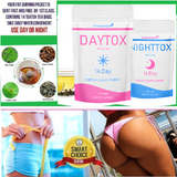DayTox NightTox Detox Fat Burner Tea