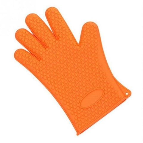 Heat Resistant Silicone Cooking Grill Gloves