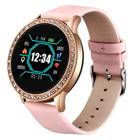 Ladies Smart Watch Blood Pressure Fitness tracker