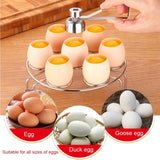Raw Boiled Egg Topper Cutter