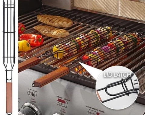 Reusable Kebab BBQ Basket