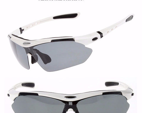Polarized UV Light Auto Adaptive Cycling Sun Glasses Lenswear