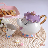Beauty And The Beast Teapot Set