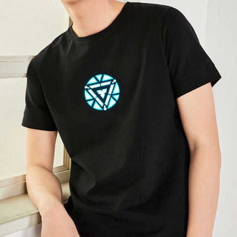 LED Light Acoustic Control T-Shirt