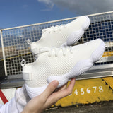 Stretch Fabric Mesh Trainers Sneakers
