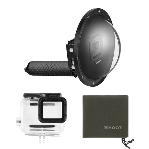 "6"" Go Pro Dome Lens for GoPro Hero 5 Black, Hero 6, Hero 7"