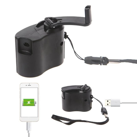 Manual Outdoor Phone Emergency Charger