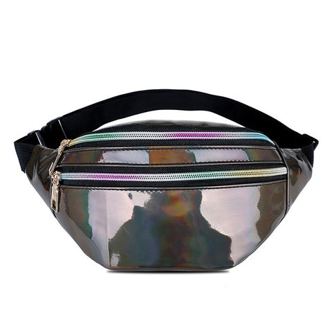 Holographic Waist Travel Bumbag