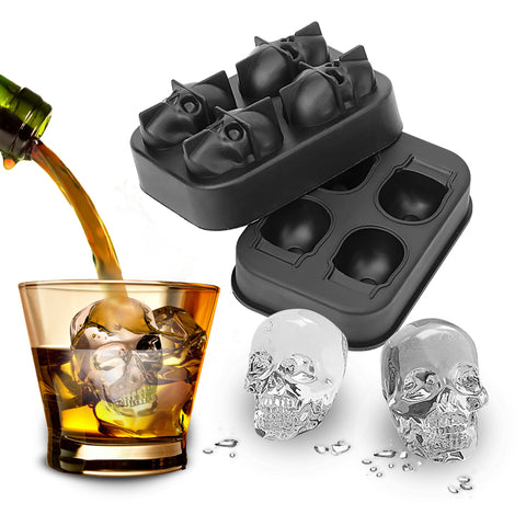 Skull Ice Mould