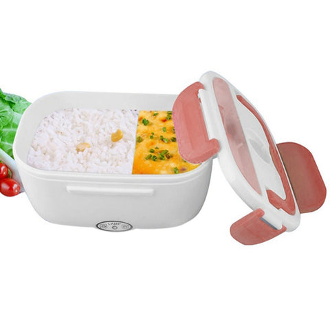 Electric Heated Microwave Lunch Box