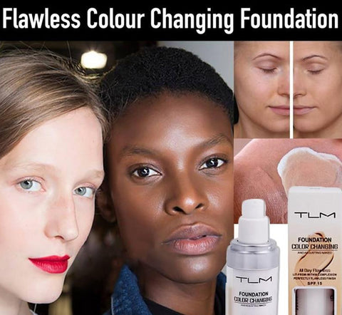 30ml TLM Color Changing Liquid Foundation To Match Your Skin Tone