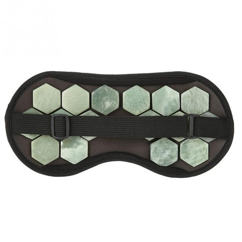 Natural Stone Jade Eye Massager Therapy