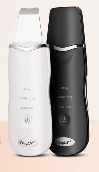 Ultrasonic Facial Blackhead Derma Skin Scrubber Pen