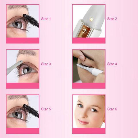 LASHCurl Heated Eyelash Curler