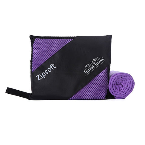 Zipsoft Microfiber Quick Drying Towels for Beach Gym Travel Yoga