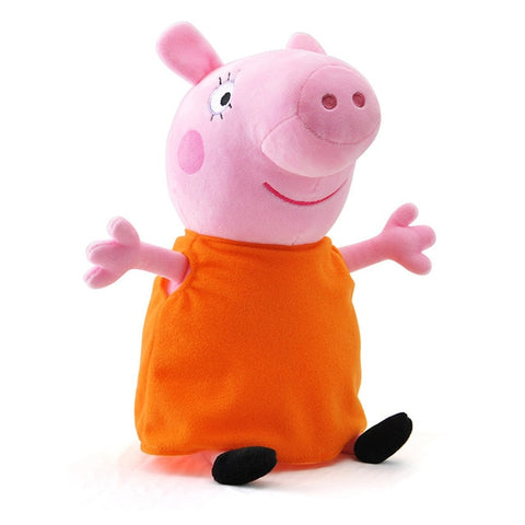 Peppa Pig Family George Dad Mom Pelucia