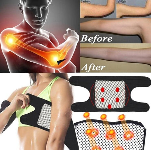 Magnetic Self-Heating Slimming Therapy Arm Elbow Brace