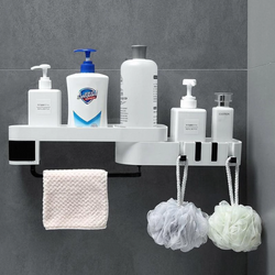 Shower Shelf Holder Space Saver No Drilling