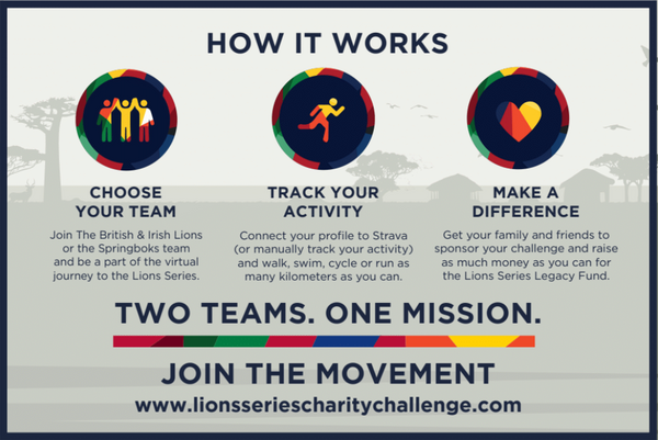 Lions Series Charity Challenge